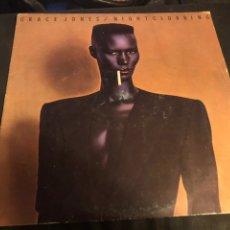 Discos de vinilo: GRACE JONES - NIGHTCLUBBING - DOWNTEMPO. Lote 218324297