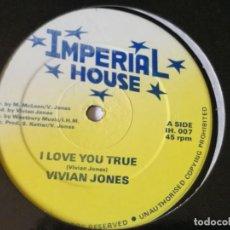 Discos de vinilo: VIVIAN JONES - TELL ME WHY - 1992. Lote 218329728