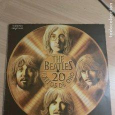 Discos de vinilo: THE BEATLES - LP - 20 ÉXITOS DE ORO.. Lote 218330170
