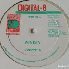 Discos de vinilo: JOHNNY P / PENNY IRIE - WINERY / CONDEM. Lote 218331710