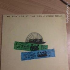 Discos de vinilo: THE BEATLES - LP - THE BEATLES AT THE HOLLYWOOD BOWL RAREZA. Lote 218333748