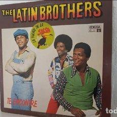Discos de vinilo: LP THE LATIN BROTHERS , TE ENCONTRE 1980 - THE LATIN BROTHERS. Lote 218335143