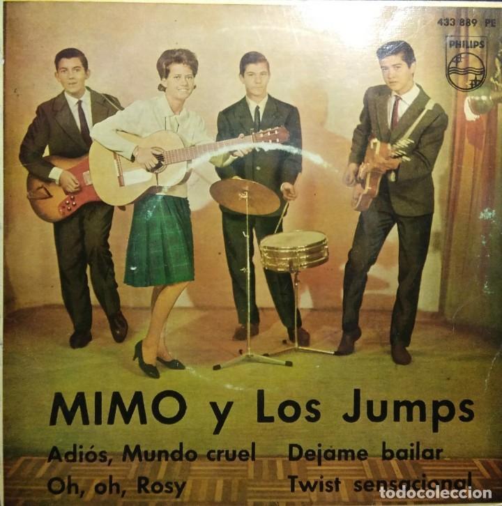 EP MIMO Y LOS JUMPS : ADIOS MUNDO CRUEL + 3 (Música - Discos de Vinilo - EPs - Grupos Españoles 50 y 60)
