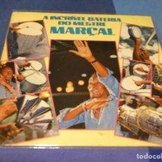 Discos de vinilo: EXPRO LP MUSICA BRASILEÑA O INCREIBLE BATERIA DO MESTRE MARÇAL 1987 BUEN ESTADO UNA RAJITA EN TAPA. Lote 218339008