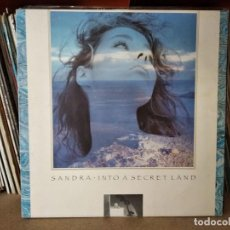 Discos de vinilo: SANDRA – INTO A SECRET LAND. Lote 218339725
