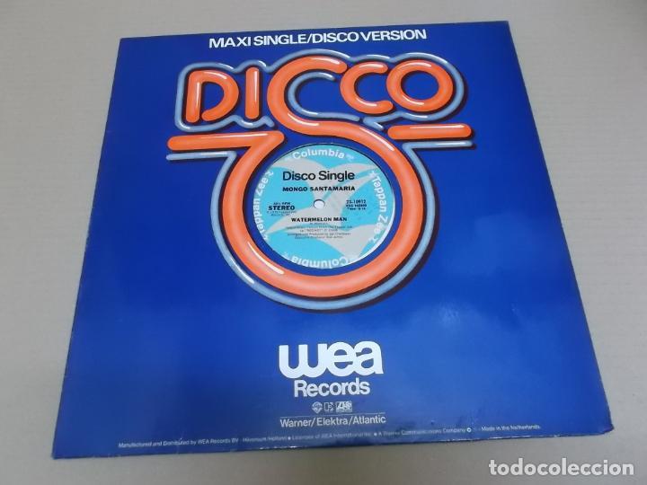 MONGO SANTAMARIA (MAXI) WATERMELON MAN (2 TRACKS) AÑO 1979 – EDICION U.S.A. (Música - Discos de Vinilo - Maxi Singles - Jazz, Jazz-Rock, Blues y R&B)
