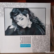 Discos de vinilo: SANDRA – MIDNIGHT MAN - MAXI-SINGLE EUROPE 1987. Lote 218340213