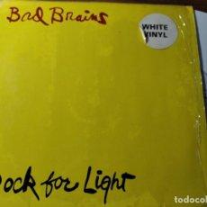 Discos de vinilo: BAD BRAINS - ROCK FOR LIFE ************** RARO LP ALEMÁN 1983 VINILO BLANCO BUEN ESTADO. Lote 218341227