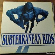 Discos de vinilo: SUBTERRANEAN KIDS - M/T ********** RARO LP PUNK HARDCORE CATALÁN 1989 BUEN ESTADO!. Lote 218341617