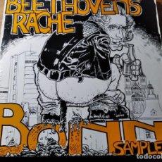 Discos de vinilo: VVAA - BEETHOVENS RACHE - BONN SAMPLER ********** RARO LP PUNK ALEMÁN 1988. Lote 218341907