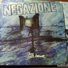 Discos de vinilo: NEGAZIONE - LITTLE DREAMER ********** RARO LP PUNK HARDCORE ITALIANO 1988. Lote 218342365