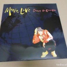 Discos de vinilo: MONIE LOVE (MAXI) DOWN TO EARTH (3 TRACKS) AÑO 1991. Lote 218342567