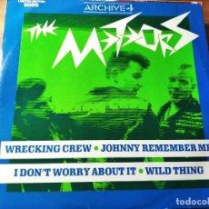 Discos de vinilo: THE METEORS - ARCHIVE 4 ********** RARO MINI LP LIMITADO A 5000 COPIAS UK 1986 PSYCHOBILLY. Lote 218342811