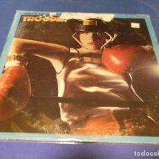 Discos de vinilo: EXPRO LP HARD ROCK USA CA 1980 TROOPER KNOCK EM DEAD PORTADA TOCADA VINILO ALGUNA SEÑAL LEVE. Lote 218346053