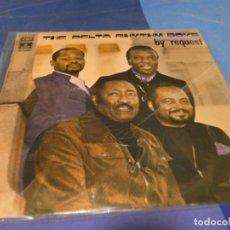 Discos de vinilo: EXPRO LP NO MUY COMUIN BLUES GOSPEL THE DELTA RHTYM BOYS BY REQUEST 1972 UNA LINEA FINA. Lote 218347438