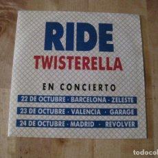 Discos de vinilo: SINGLE RIDE TWISTERELLA WARNER SPAIN PROMO. Lote 218349062