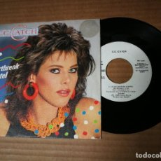 Discos de vinilo: C.C. CATCH HEARTBREAK HOTEL / YOU SHOT A HOLE IN MY SOUL SINGLE VINILO PROMO ESPAÑOL MODERN TALKING. Lote 218350686