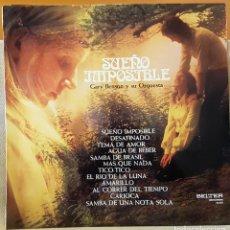 Discos de vinilo: SUEÑOS IMPOSIBLES GARY BENSON Y SU ORQUESTA. Lote 218359642