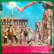 Discos de vinilo: SARDANES DE FESTA MAJOR VOL. 1 / EP HISPAVOX DE 1959 RF-4548 , BUEN ESTADO. Lote 218367927