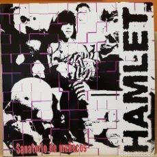Discos de vinilo: HAMLET SANATORIO DE MUÑECOS - IRRACIONAL - QUE VOY HACER. Lote 218368228