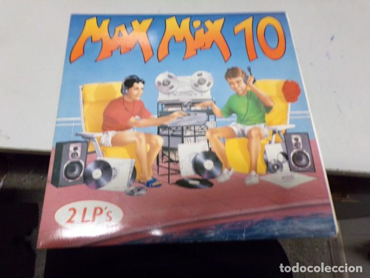 MAX MIX 10 - 2 LP'S (Música - Discos - LP Vinilo - Disco y Dance)