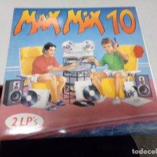 Discos de vinilo: MAX MIX 10 - 2 LP'S. Lote 218380962