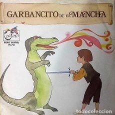 Discos de vinilo: GARBANCITO DE LA MANCHA - SINGLE ZAFIRO ROJO 1972. Lote 218381310