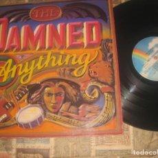 Discos de vinilo: THE DAMNED – ANYTHING (MCA RECORDS 1986) INCL ENCARTE OG ESPAÑA ESTADO VG. Lote 218390241