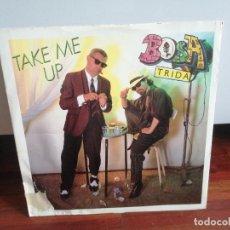 Discos de vinilo: BOSA TRIDA - TAKE ME UP. MAXI. RARO (DE LA CANCIÓN DE SCOTCH) ITALO DISCO. Lote 218391398