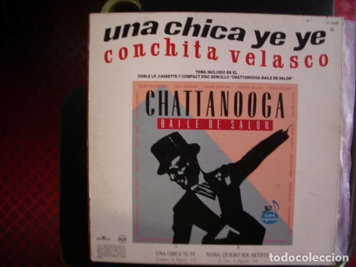 Discos de vinilo: CONCHITA VELASCO- UNA CHICA YEYÉ. MAXI. - Foto 2 - 218397207