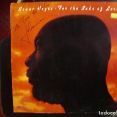 Discos de vinilo: ISAAC HAYES- FOR THE SAKE OF LOVE. LP.. Lote 218397768