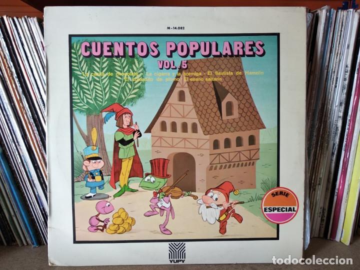 CUENTOS POPULARES . VOL 5 (Música - Discos - LPs Vinilo - Música Infantil)