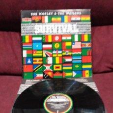 Discos de vinilo: BOB MARLEY & THE WAILERS - SURVIVAL LP. Lote 218399091