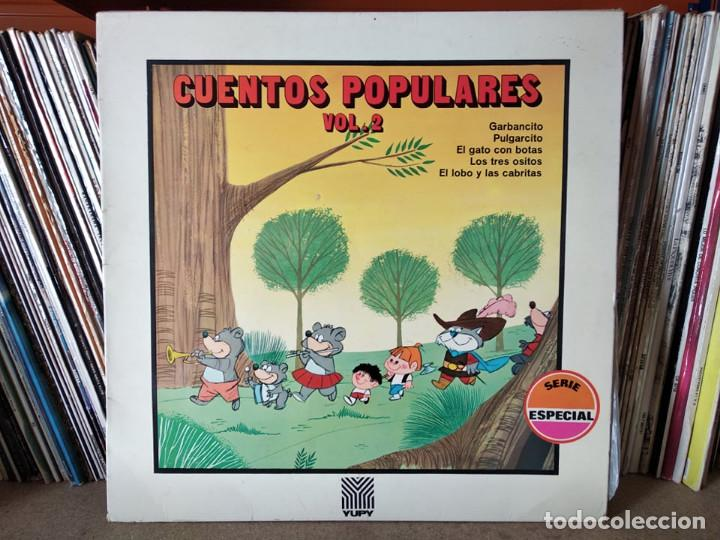 CUENTOS POPULARES VOL.2 -SAMANIEGO - MOVIEPLAY 1970 (Música - Discos - LPs Vinilo - Música Infantil)
