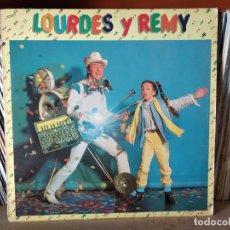 Discos de vinilo: LOURDES Y REMY - GRUPO DE ACOMPAÑAMIENTO: PEGASUS ( MAX SUÑE, KITFLUS, SANTI ESCOTE, SANTI ARISA. Lote 218399211