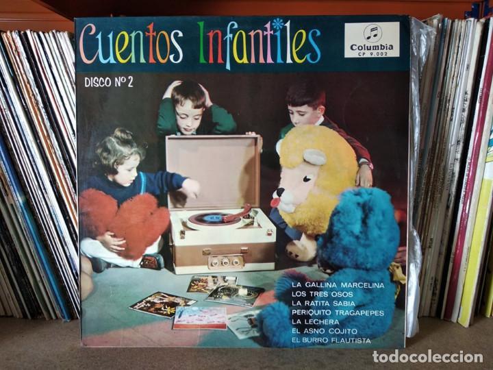 CUENTOS INFANTILES - COLUMBIA ,DISCO NÚMERO 2 (Música - Discos - LPs Vinilo - Música Infantil)