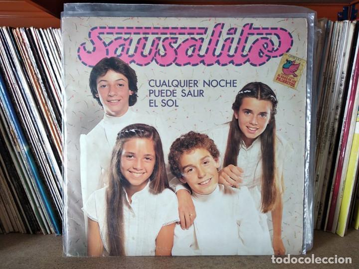 SAUSALITO CUALQUIER NOCHE PUEDE SALIR EL SOL LP 1981 EDIGSA (Música - Discos - LPs Vinilo - Música Infantil)