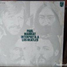 Discos de vinilo: THE BEATLES INTERPRETADOS POR PAUL MAURIAT - ELEANOR RIGBY * YESTERDAY * HEY JUDE * GIRL * 1972. Lote 218400732