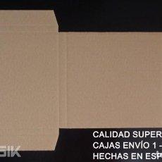 Discos de vinilo: 100 CAJAS | EMBALAJES DE CARTÓN PARA ENVIAR DE 1 A 5 SINGLES DE VINILO. Lote 218403111