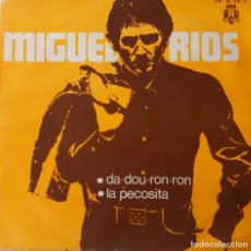 Discos de vinilo: MIGUEL RIOS. DA.DOU-RON-RON. SINGLE PROMOCIONAL. Lote 218404638