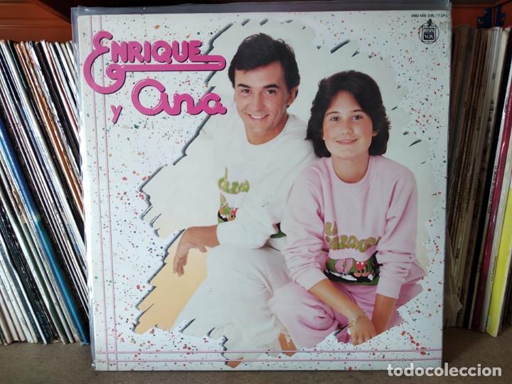 ENRIQUE Y ANA - 2 X 1 GRANDES EXITOS DOBLE LP (Música - Discos - LPs Vinilo - Música Infantil)