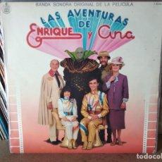 Discos de vinilo: ENRIQUE Y ANA - LAS AVENTURAS DE ENRIQUE Y ANA. Lote 218404766