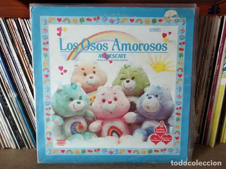 LOS OSOS AMOROSOS - LETRA Y MUSICA DE RANDY EDELMAN - LP VERSION EN ESPAÑOL + ENCARTE CON LETRAS (Música - Discos - LPs Vinilo - Música Infantil)
