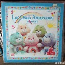 Discos de vinilo: LOS OSOS AMOROSOS - LETRA Y MUSICA DE RANDY EDELMAN - LP VERSION EN ESPAÑOL + ENCARTE CON LETRAS. Lote 218404868