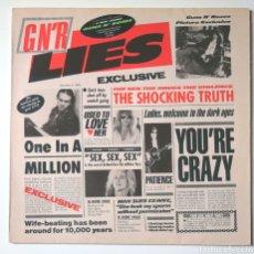 """Discos de vinilo: LP ALBUM , GUNS N"""" ROSES , GNR LIES , IMPORT.. Lote 218408160"""