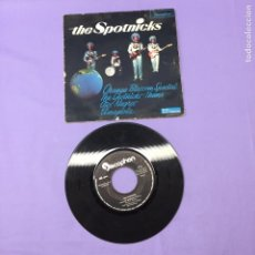 Discos de vinilo: SINGLE -- THE SPOTNICKS -- ORANGE BLOSSOM SPECIAL -- THE SPOTRICKS THEME -- OJOS NEGROS AMAPOLA-- VG. Lote 218411197