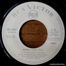 Discos de vinilo: MIGUEL FLETA - CANCIÓN DE LA ESPADA / FLOR ROJA - 1965 - EDICIÓN JUKEBOX - SINFONOLA - ZARZUELA. Lote 218420522