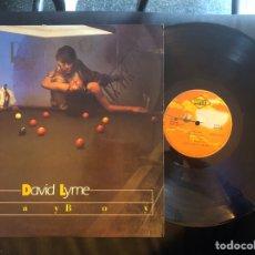 Discos de vinilo: DAVID LYME ?– PLAYBOY ITALO-DISCO. Lote 218421115