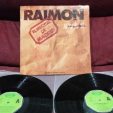 Discos de vinilo: RAIMON - EL RECITAL DE MADRID, LP DOBLE GATEFOLD. Lote 218421803