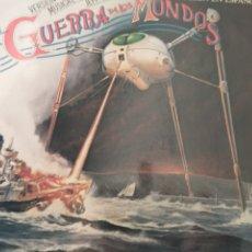 Discos de vinilo: LA GUERRA DE LOS MUNDOS DOBLE LP. Lote 218424830
